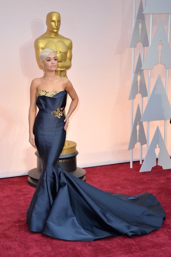 Rita Ora i jej dwie piękne oscarowe kreacje (FOTO)