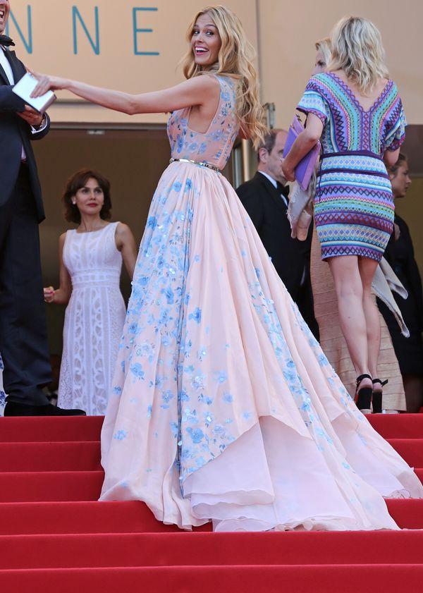 Petra Nemcova - kolejna kreacja Zuhaira Murada w Cannes