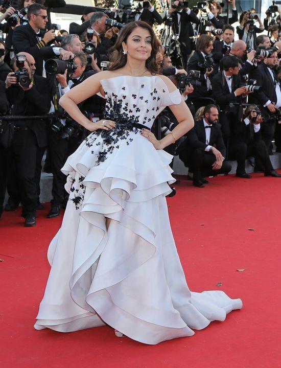 Aishwarya Rai - bogini w Cannes (FOTO)