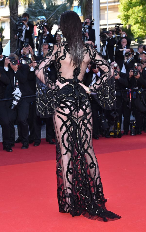 Kendall Jenner zachwyca w kreacji Roberto Cavalli w Cannes