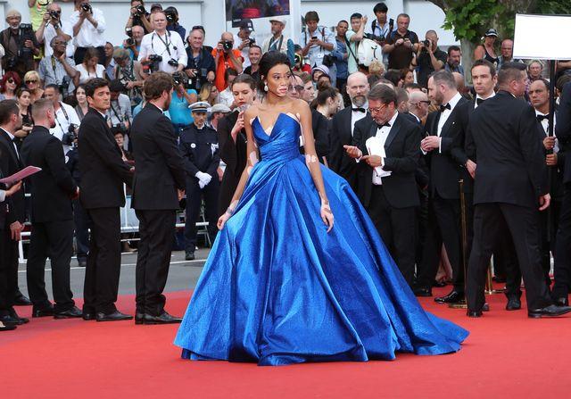 Winnie Harlow i najbardziej spektakularna kreacja w Cannes! (FOTO)