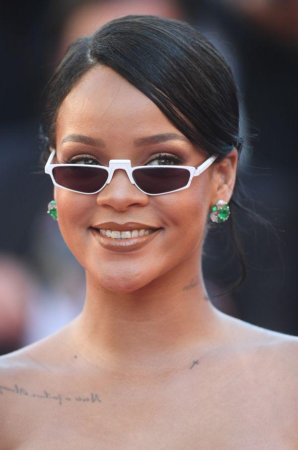 Rihanna nie zachwyciła w Cannes? Gdyby nie te okulary... (FOTO)