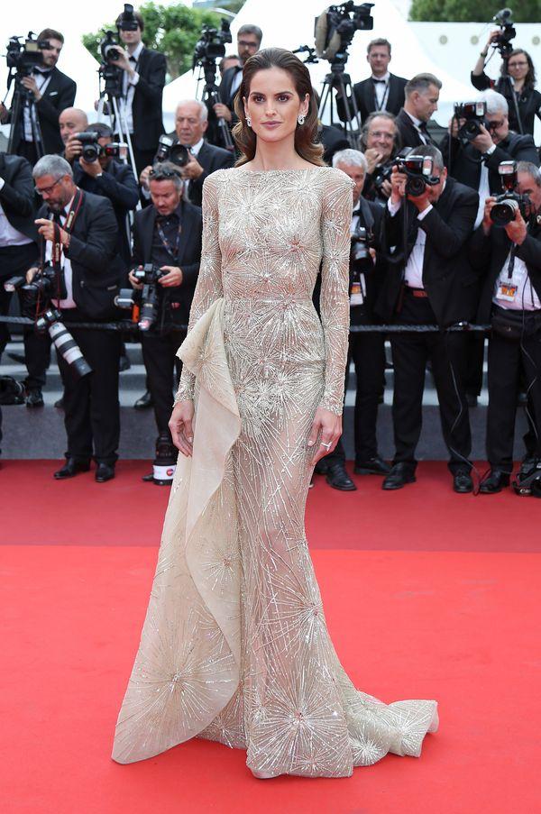 Zachwycająca Izabel Goulart na czerwonym dywanie w Cannes (FOTO)