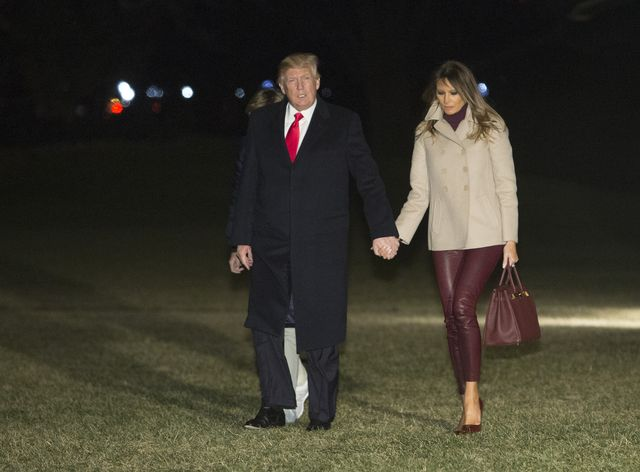Czy Pierwsza Dama powinna zakładać skórzane spodnie? Zobaczcie najnowsze...