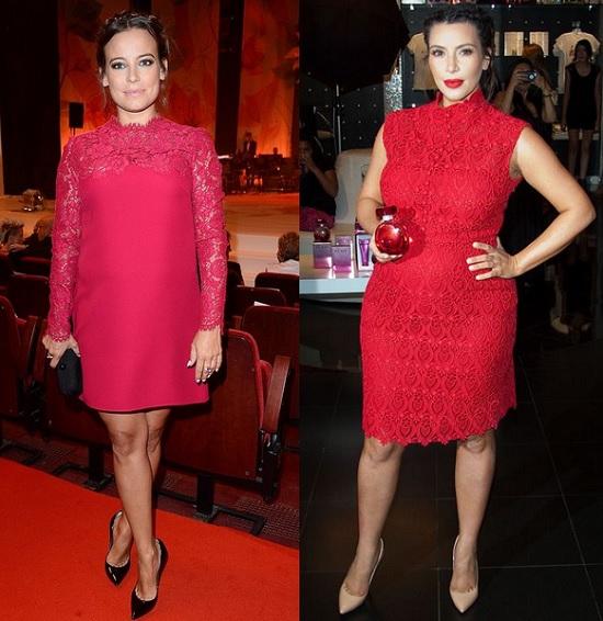 Anna Mucha jak Kim Kardashian w sukience od Valentino