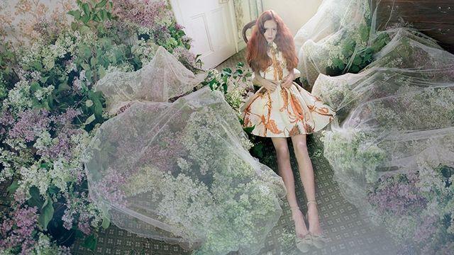 Bajkowa kampania RED Valentino - wiosna-lato 2014 (FOTO)