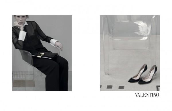 Kolekcja Valentino wiosna 2013