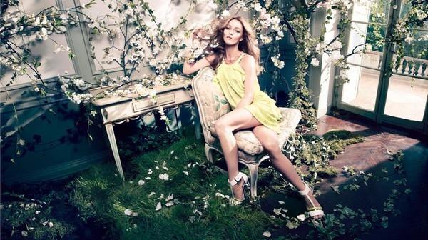 Vanessa Paradis w wiosennej kampanii H&M Conscious