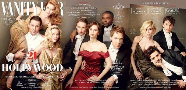 Sławy Hollywood dla Vanity Fair! (FOTO+VIDEO)