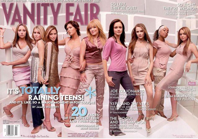 Vanity Fair: 10 lat minęło...