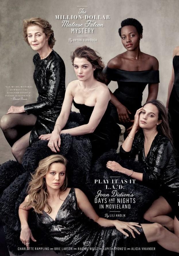 Najlepsze aktorki Hollywood dla Vanity Fair (FOTO)