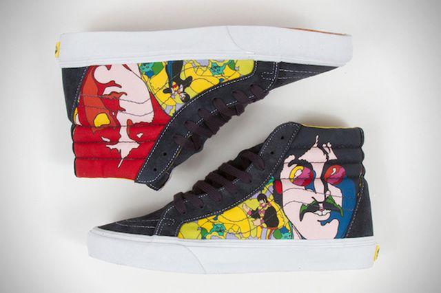 Nowa kolekcja Vans - idealna dla fanów Beatlesów (FOTO)
