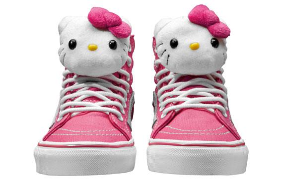 Letnia kolekcja Vans i Hello Kitty