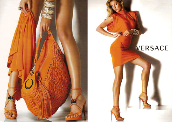 Gisele Bundchen dla Versace