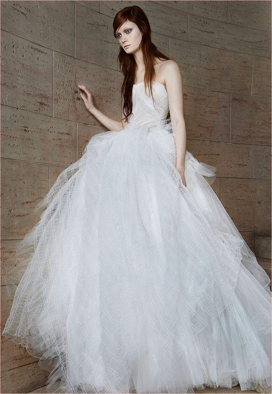 Suknie ślubne na rok 2015 od Very Wang! (FOTO)