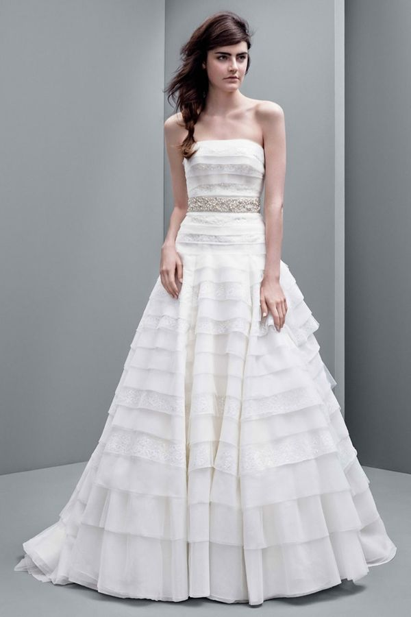 White by Vera Wang - suknie ślubne na jesień 2014 (FOTO)
