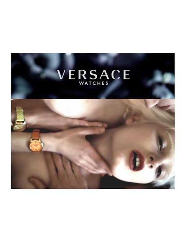 Bardzo zmysłowa kampania Versace