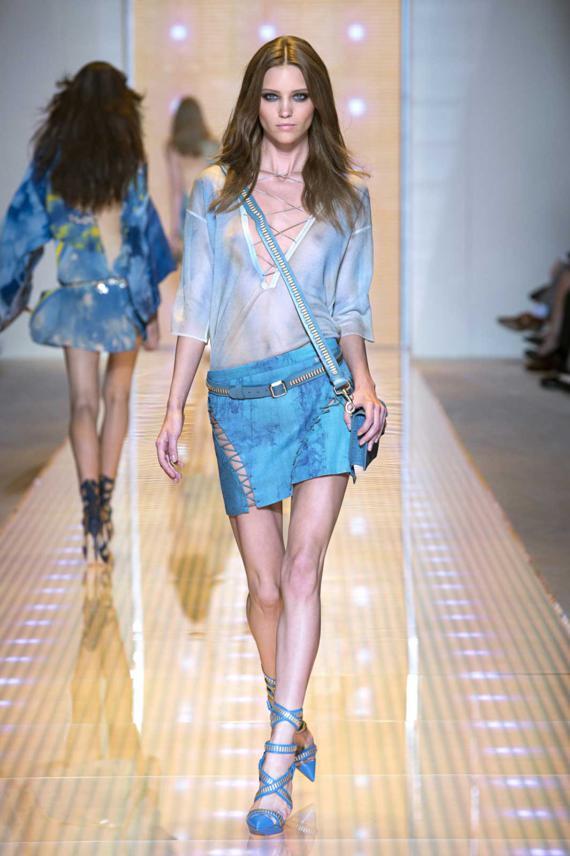 Kolekcja Versace wiosna-lato 2013