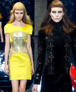 Versace jesień-zima 2012/2013