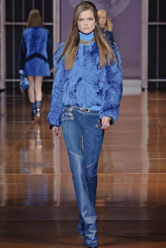 Versace - kolekcja Fall/Winter 2014 (FOTO)