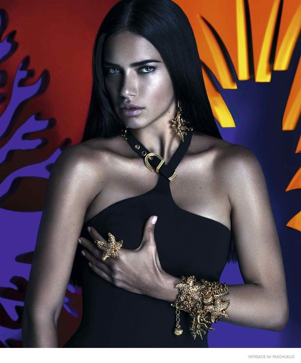 Adriana Lima dla Versace for Riachuelo (FOTO+VIDEO)