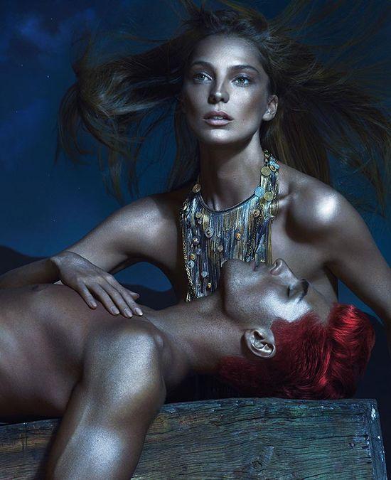 Moss, Werbowy i Smalls w kampanii Versace (FOTO)