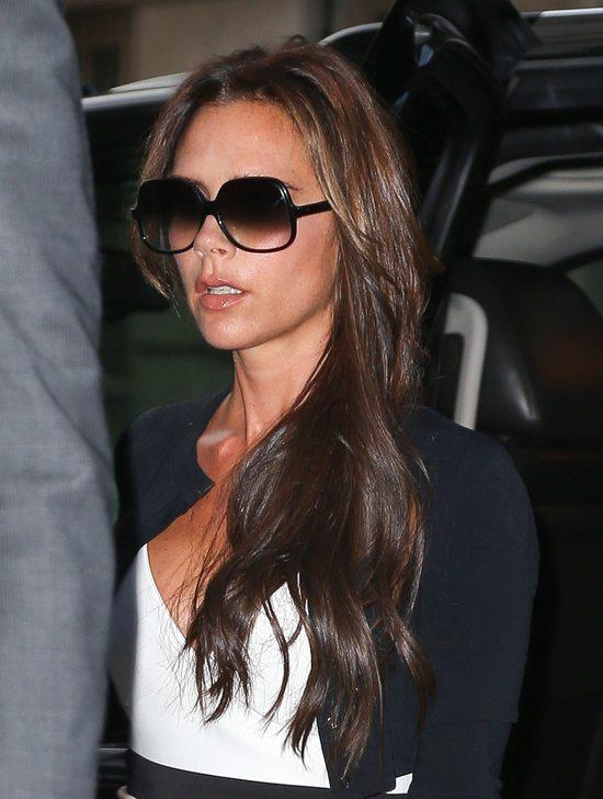 Victoria Beckham jak zawsze elegancka
