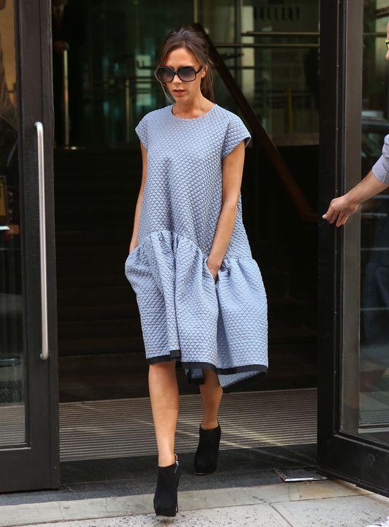 Victoria Beckham w sukience swojego projektu (FOTO)