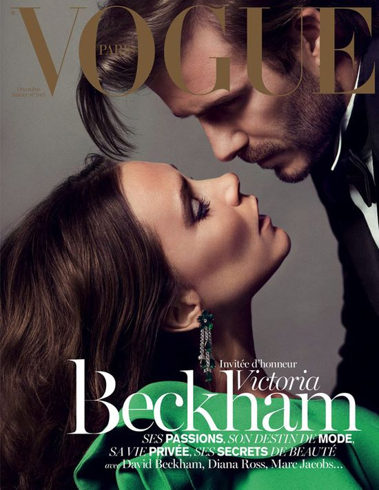 Victoria i David Beckham dla Vogue Paris (FOTO)