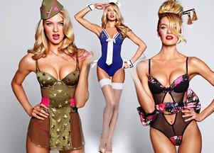Seksowne przebieranki z Victoria's Secret (FOTO)