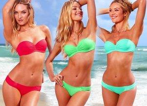 Bajecznie kolorowe kostiumy od Victoria's Secret