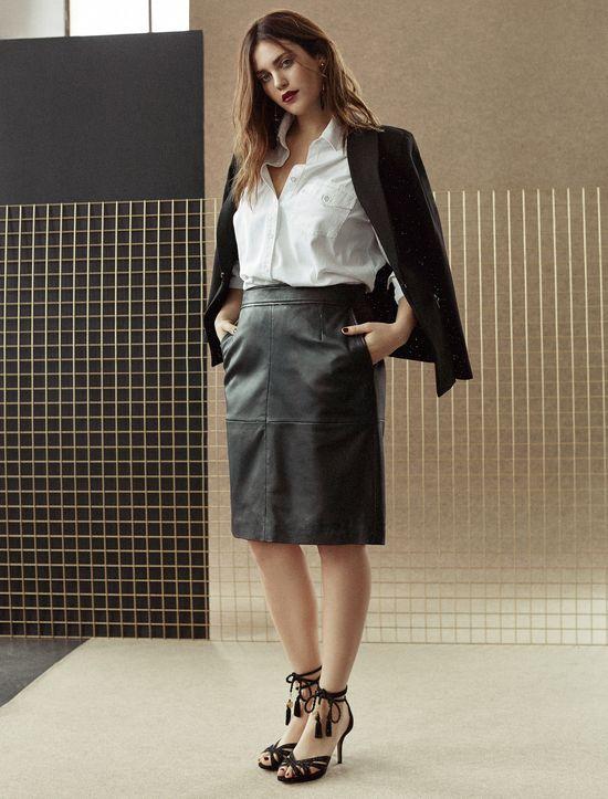 Mango Voleta Evening Collection - Wieczorowa moda plus size