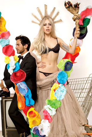 Lady Gaga i  Marc Jacobs na okładce V Magazine