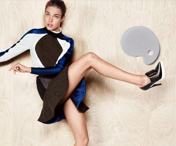 Natalia Vodianova w kampanii Stelli McCartney jesień 2012