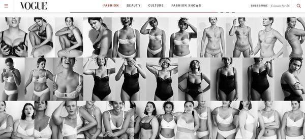 Vogue odpowiada marce Calvin Klein (FOTO)