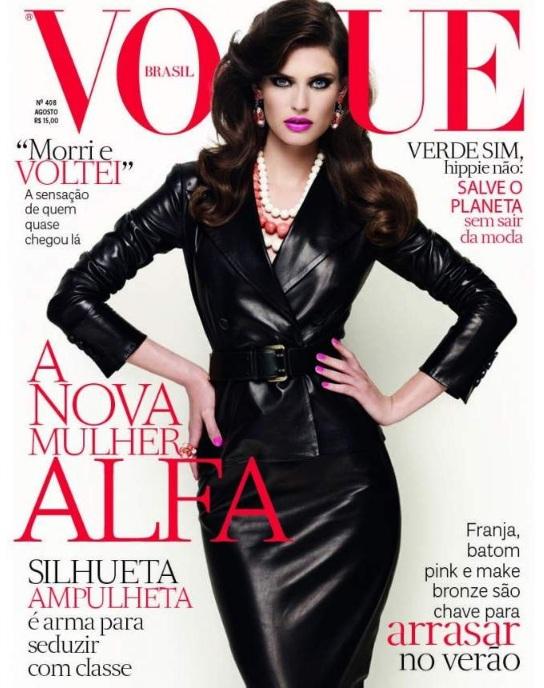 Bianca Balti w sierpniowym Vogue Brazil