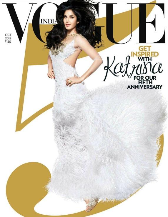 Pięć okładek Vogue India na piątą rocznicę magazynu