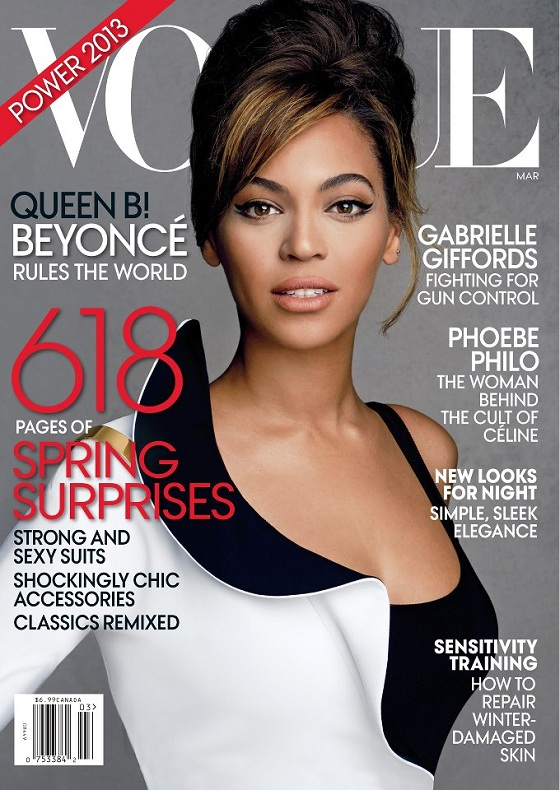 Beyonce na okładce Vogue US