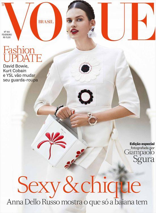 Frąckowiak, Franke, Goulart i Mass w najnowszym Vogue