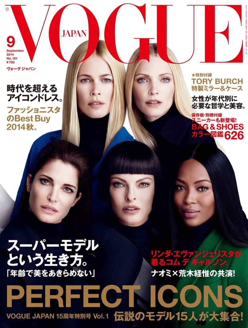 Słynne supermodelki wracają na okładce Vogue'a!