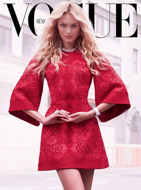 Candice Swanepoel na trzech okładkach Vogue Mexico