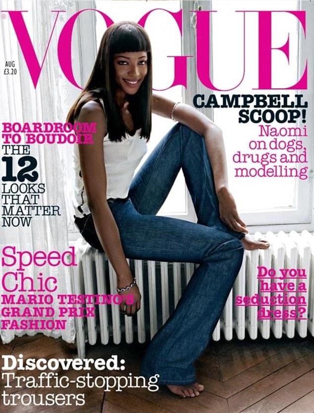 Po 12 latach Vogue poświęcił okładkę czarnoskórej modelce!