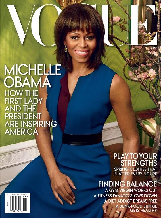 Michelle Obama na okładce kwietniowego Vogue US