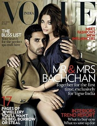 Aishwarya Rai w Vogue India