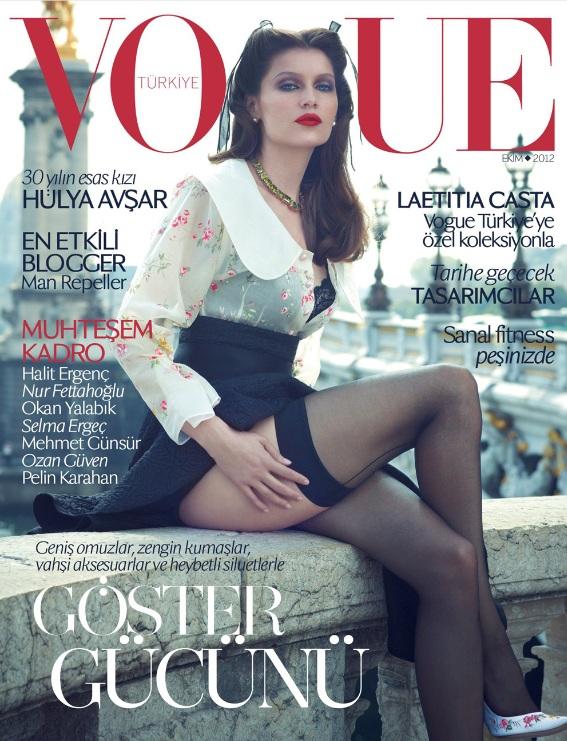 Laetitia Casta na okładce tureckiego Vogue'a
