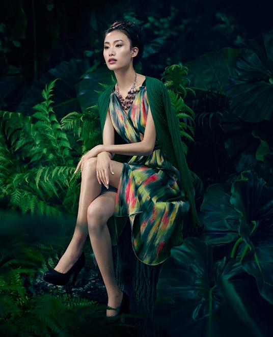 Romantyczna kampania reklamowa Very Wang