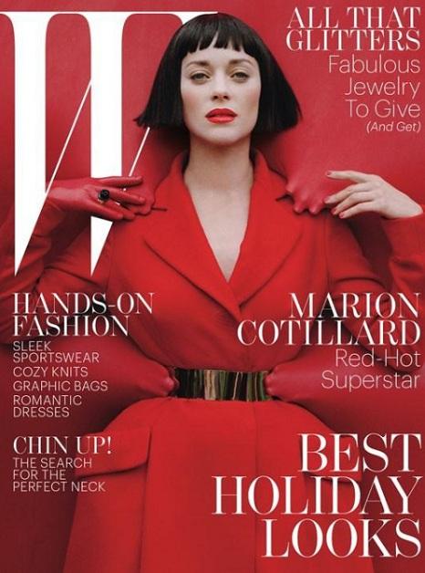 Jessica Chastain na okładce styczniowego Vogue Niemcy