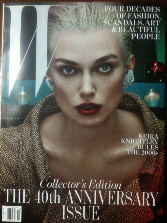 Cztery gwiazdy odmienione w W Magazine (FOTO)