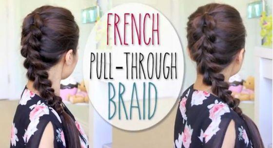 Francuski warkocz idealny na jesień (VIDEO)