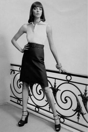 Daria Werbowy w kampanii Yves Saint Laurent